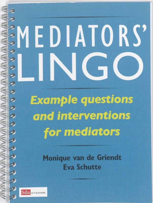Mediators' Lingo