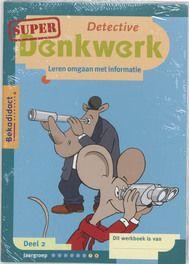 Super Detective Denkwerk set 5 ex